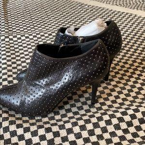 Zara Studded heel booties